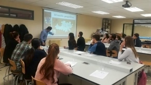 Tierra de León en la Universidad Europea Miguel de Cervantes