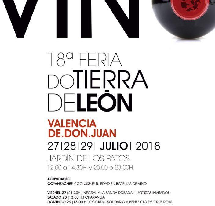 La DO Tierra de León reúne a 12 bodegas en la 18ª Feria del Vino de Valencia de Don Juan