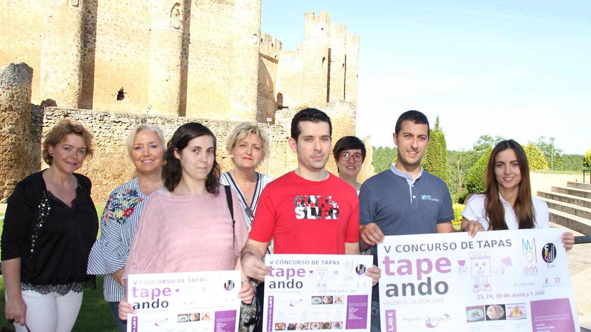 """Ganadores del concurso """"Tapeando"""" de Valencia de Don Juan"""