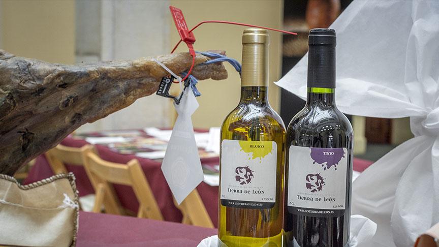 Degustación gratuita de vinos DO León y Cecina de chivo
