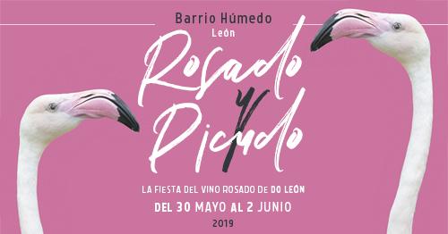 'Rosado y Picudo' pone de moda el vino rosado de la DO León en el Barrio Húmedo