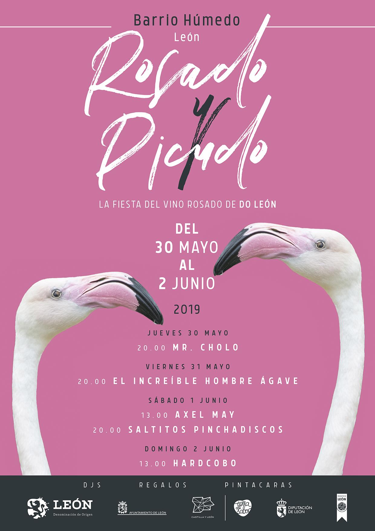 Cartel Rosado y Picudo 2019