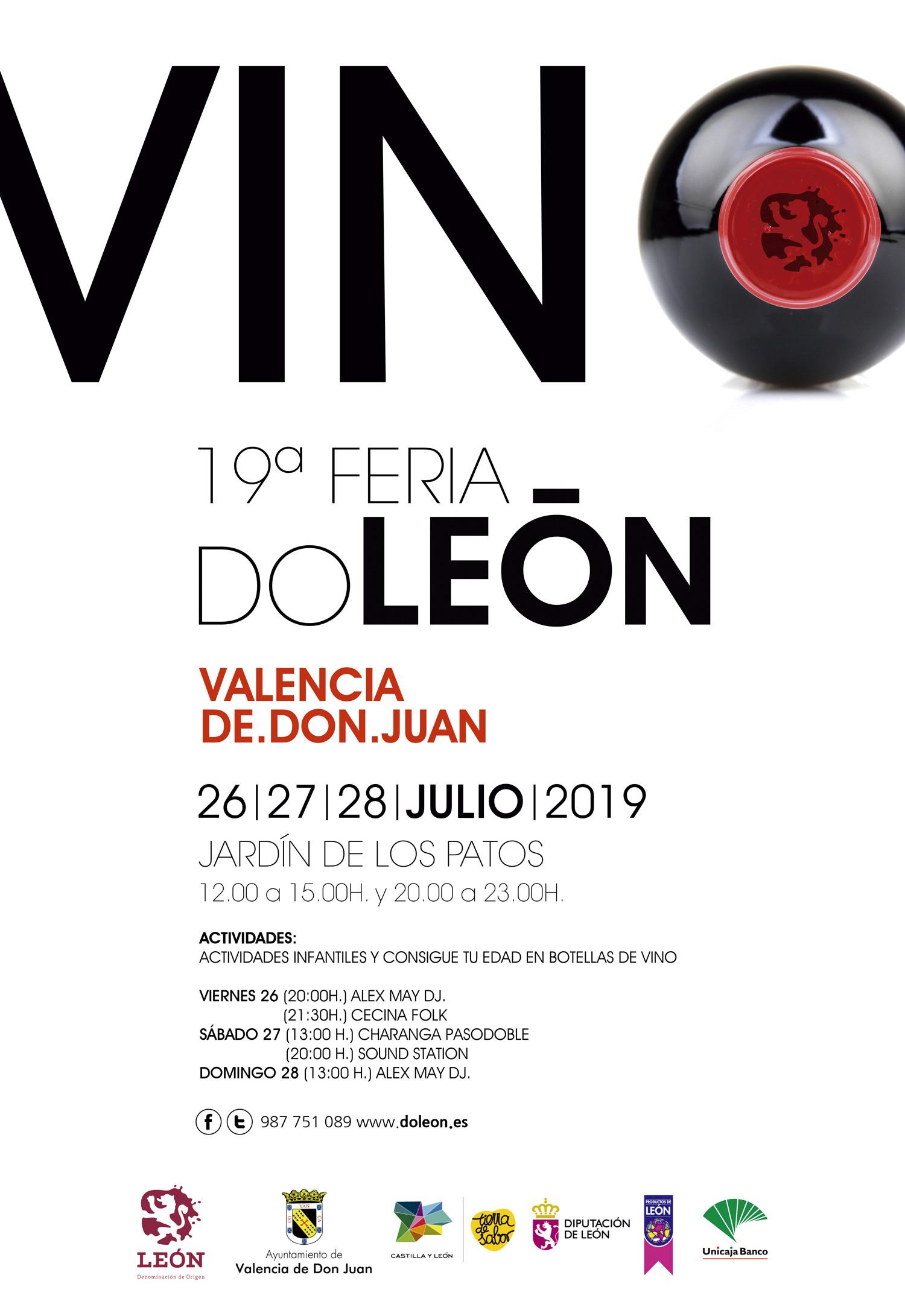 Feria del Vino de Valencia de Don Juan 2019