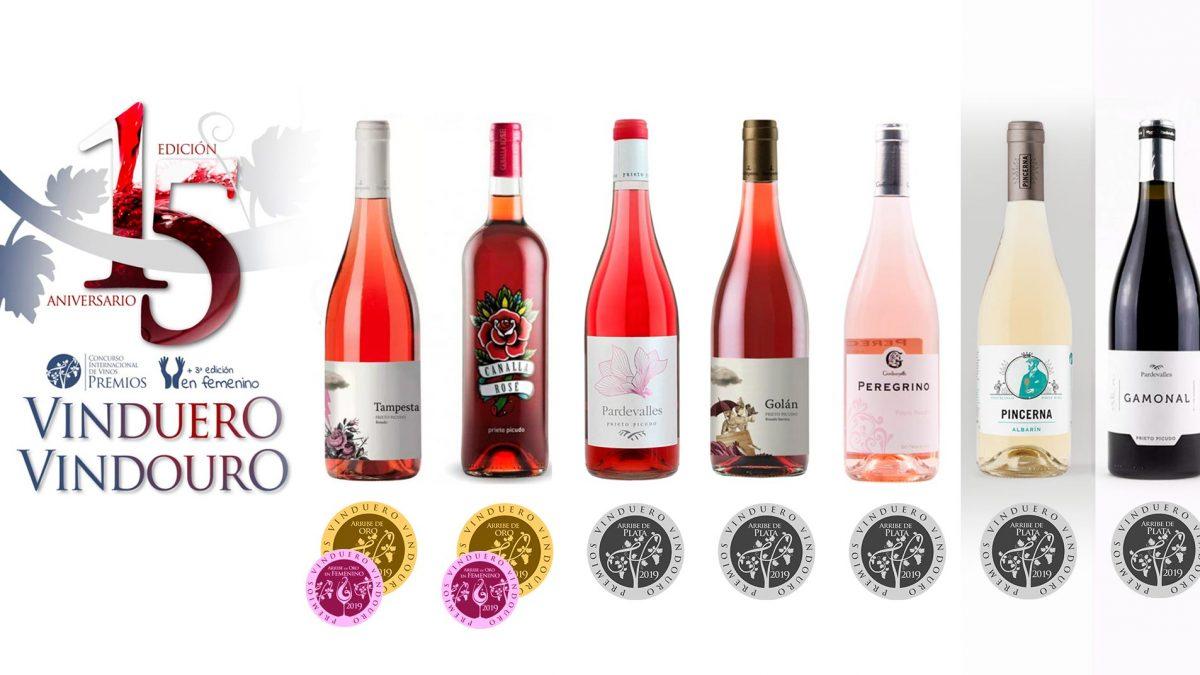 Los rosados de la DO León ponen color y sabor a la gala y entrega de premios Vinduero-Vindouro 2019