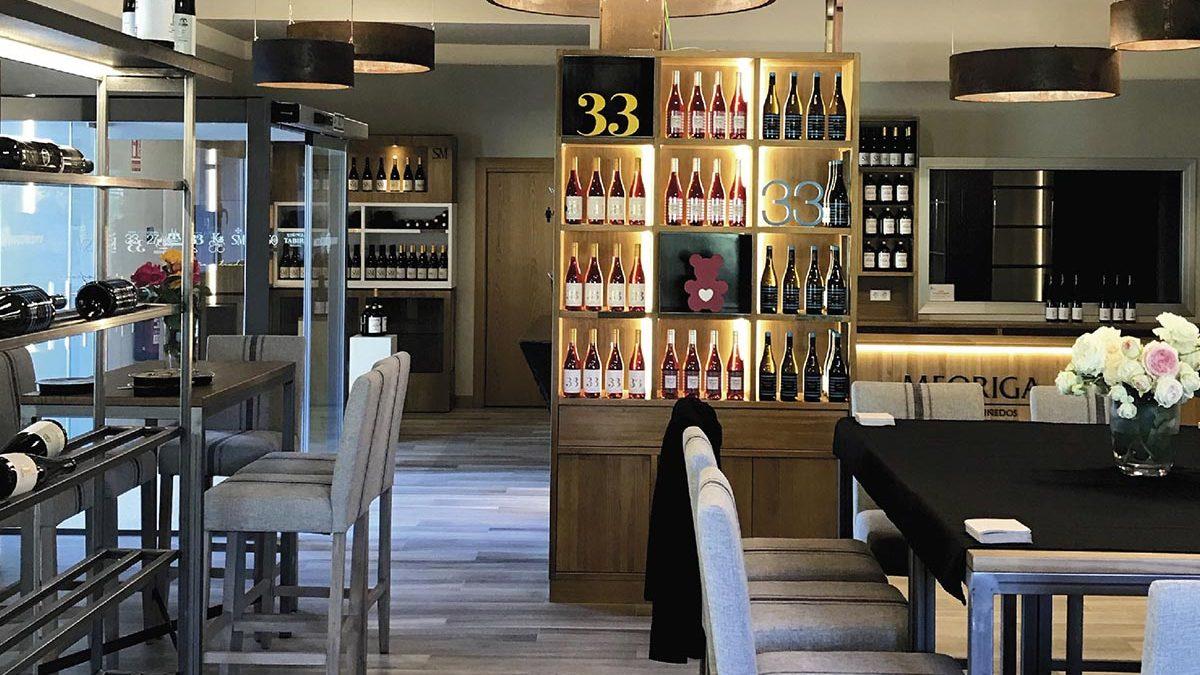 Wine tourism in Meoriga Cellar