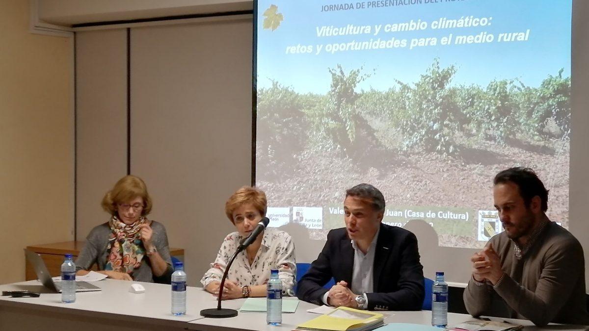 La DO León participa en una jornada técnica para analizar los efectos del cambio climático sobre la viticultura