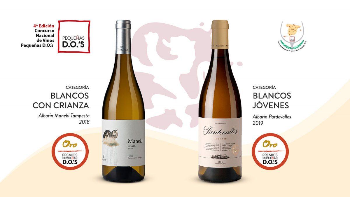Dos oros para vinos de Albarín en el Concurso Nacional de Pequeñas DO's